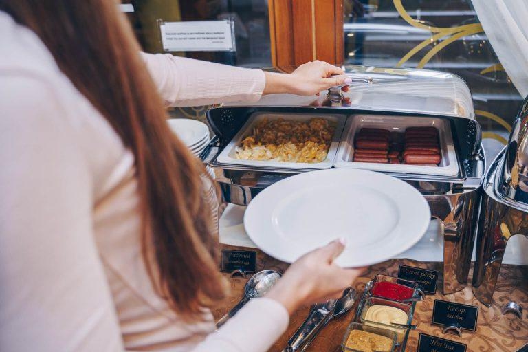 Hotel Solisko - raňajky