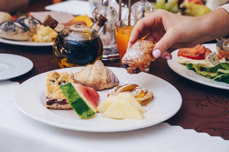 Hotel Solisko - raňajky 1