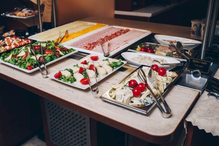 Raňajky Hotel Solisko
