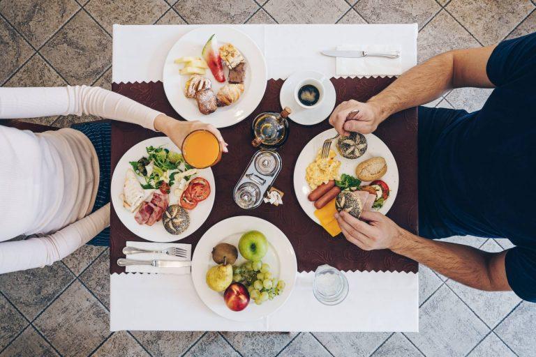 Raňajky Hotel Solisko IX