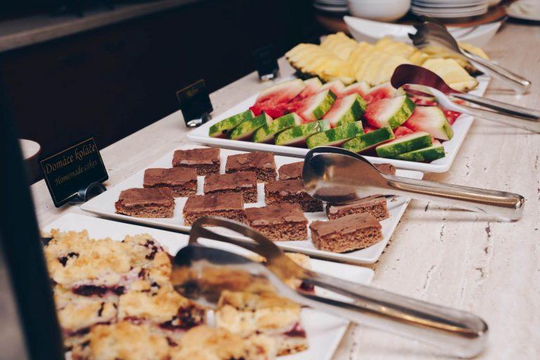 Raňajky Hotel Solisko V