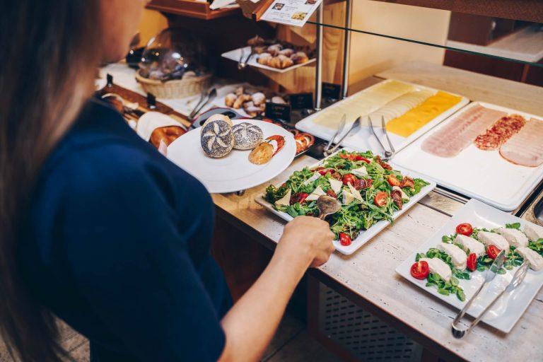 Raňajky Hotel Solisko VIII