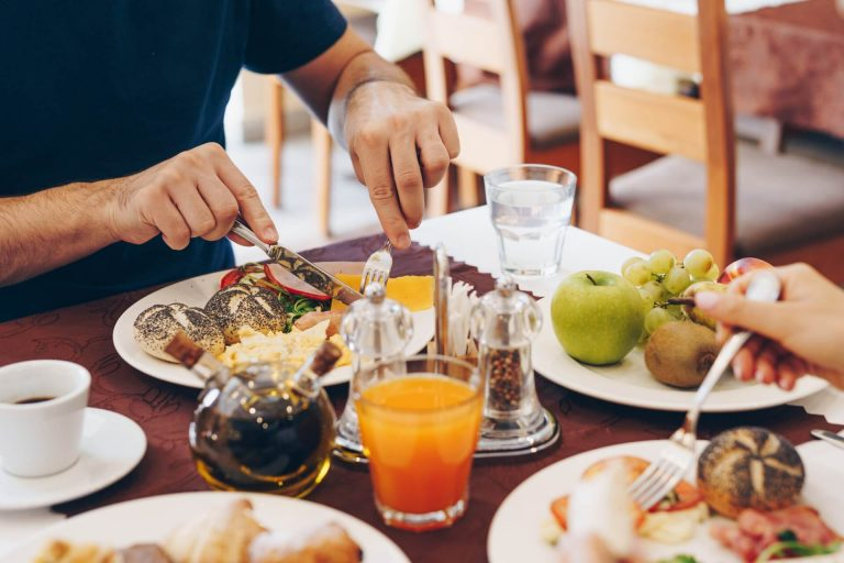 Raňajky Hotel Solisko XI